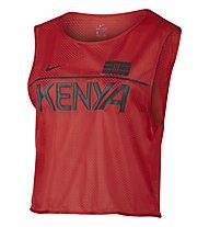 Nike Dry Top Energy Kenia Lauftoberteil Damen, Red