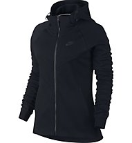 Nike Women Sportswear Tech Fleece Hoodie - damen-Kapuzenjacke, Black