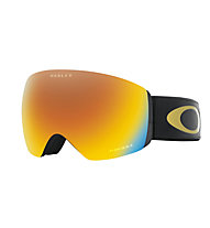 Oakley Flight Deck - maschera sci, Black/Yellow