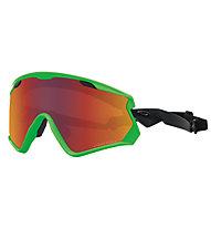 Oakley Wind Jacket 2.0 - Skibrille, Green
