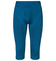 Odlo Pantalone intimo lungo Evolution warm Pants 3/4, Seaport/Black