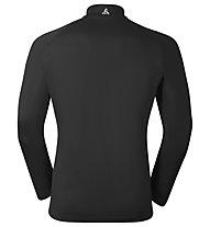 Odlo Midlayer 1/2 Zip Virgo maglia running, Black