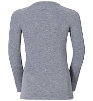 Odlo Shirt L/S Warm Jr, Grey