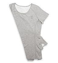 ON Comfort-T - maglia running donna, Grey