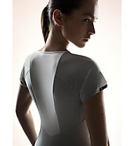 ON Performance-T - maglia running donna, Grey/White