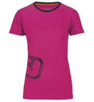 Ortovox T-Shirt Rock'n'Wool donna, Very Berry