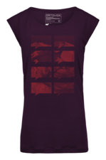 Bekleidung > Bekleidungstyp > T-Shirts >  Ortovox 150 Merino Cool Mountain Print Damenshirt