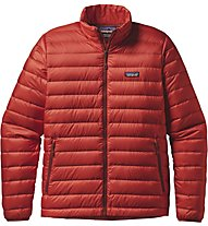 Patagonia M's Down Sweater Giacca Piuma, Red