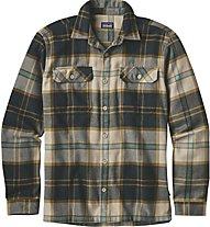 Patagonia M's Lon-Sleeved Shirt Herrenhemd, Green