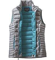 Patagonia W's Down Sweater Vest piuma donna, Grey