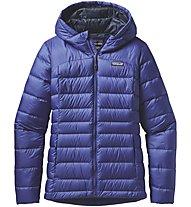 Patagonia Down Sweater Hoody Damen, Blue