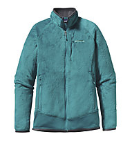 Patagonia W´s R2 Jacket - Giacca donna in pile, Tobago Blue