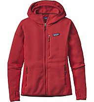 Patagonia Ws Performance Better Giacca Donna, Red