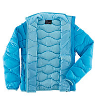Peak Performance W Helium Jacke, Turquoise/Soft Blue