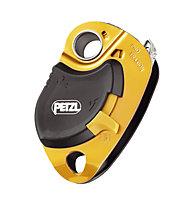 Petzl Pro Traxion, Black/Orange