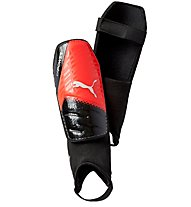 Puma EvoPower 3.3 Parastinchi Calcio, Black/Red