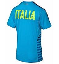 Puma FIGC Italia Stadium - Shirt, Blue/Yellow