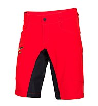 Qloom Busselton shorts with Innershorts, Rubin Red