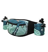 RaidLight Pack Trail Marathon Laufgürtel Damen, Black/Turquoise