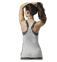 Reebok Varsity Dance Tank Damen, Medium Grey Heather