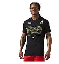 Reebok Crossfit Burnout T-Shirt Herren, Black