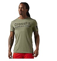 Reebok Crossfit Forging Elite Fitness T-Shirt fitness, Green