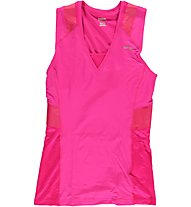 Reebok ET Long Bra Top Donna, Condensed Pink S09