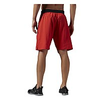 Reebok One Series Power Nasty Lightweight Pantaloni corti Fitness, Motor Red
