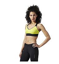 Reebok Reversible Bra Sport-BH Damen, Yellow