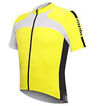 rh+ Agility Jersey Fz, Acid Yellow/White