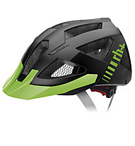 rh+ Black Combo MTB-Radhelm, Matt Black/Acid Green
