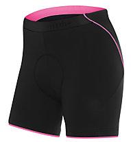 rh+ Fusion W II Shorts Damen-Radhose, Black/Deep Pink