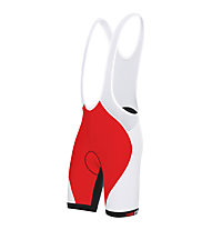 rh+ Pantaloni da bici Prime EVO Bibshorts, Red/White/Black