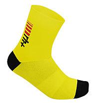 rh+ Zero Sock 13 Fahrradsocken, Fluo Yellow