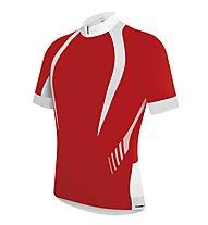 rh+ Stealth Jersey, Red/White
