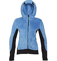 Rock Experience Crest Full Zip Fleece Wom Giacca In Pile Donna, Light Blue