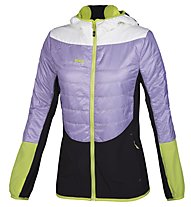 Rock Experience Transformer Giacca Donna, Lavander/Bright White/Lime Punch