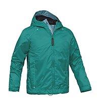 Salewa Almadin PTX G Jacket Giacca antipioggia bambina, Dragonfly (Green)