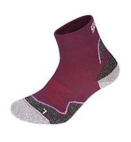 Salewa Approach Short Kid Socks, Raspberry