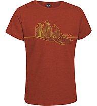 Salewa Dimai Dry'ton T-Shirt, Terracotta