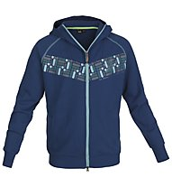 Salewa Grand Jorasses Kapuzensweatshirt, Deep Blue