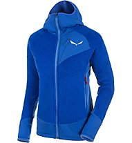 Salewa Ortles PTC Highloft Kapuzenjacke Damen, Blue