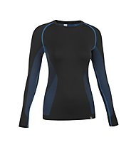 Salewa Prolix Dry'ton Maglietta tecnica a maniche lunghe alpinismo donna, Black
