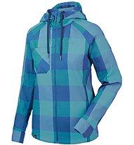 Salewa Puez Long Sleeve Shirt Camicia a maniche lunghe trekking donna, Blue