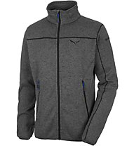 Salewa Rocca Pl M Full Zip, Grey