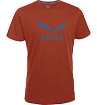 Salewa Solidlogo T-Shirt, Terracotta