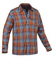 Salewa Therma PL M L/S Shirt Camicia a maniche lunghe trekking, M Ailao Orange