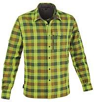 Salewa Therma PL M L/S Shirt Camicia a maniche lunghe trekking, M Zeno Pine/Bronze