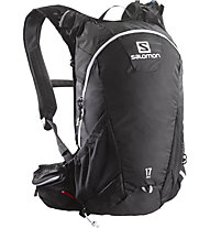 Salomon Agile 17 Trail Running Rucksack, Black/Grey