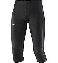 Salomon Agile pantaloni 3/4 running donna, Black